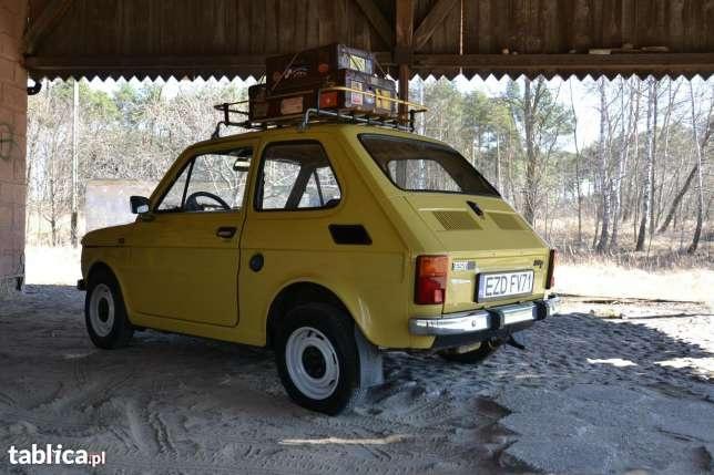 Fiat 126 IKONA POLSKIEJ Motoryzacji 1983 w Zduńskiej Woli - image 2