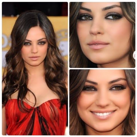 Mila Kunis Inspired Simple Grey Smokey Eye Tutorial