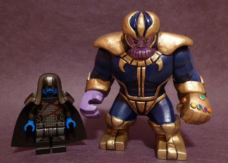 Custom Lego Big Fig Thanos | After 3 days of on and off work… | Flickr