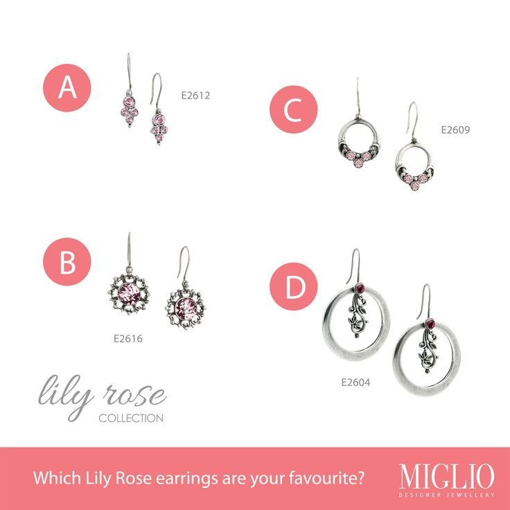 Which pair of Lily Rose Earrings are your favorite?