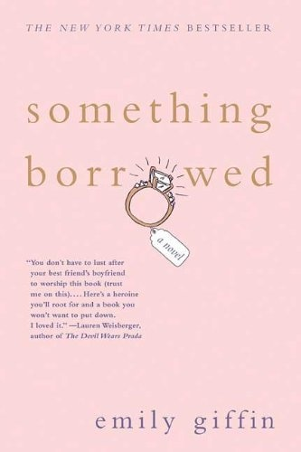 Something Borrowed #book #read.My favorite series of fluff books.