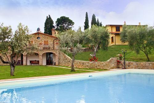 Villa Ulivi & La Casina - 12 Slaapplaatsen in 6 Slaapkamers | Lucignano | Toscane | Italië