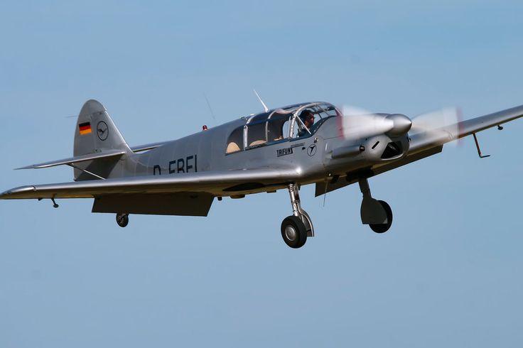 Messerschmitt BF-108 B-1 Taifun by Daniel-Wales-Images