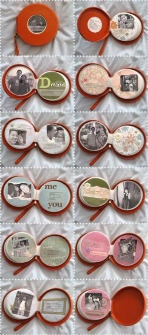 DIY- CD Case turned into a Scrapbook! A fun gift idea for friends & family! by DavideB