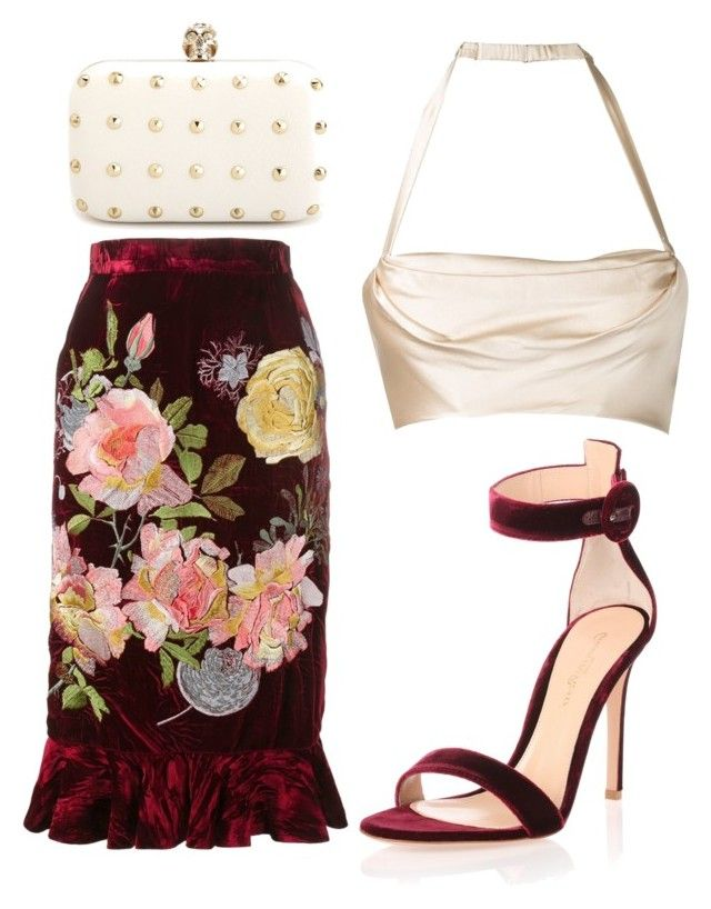 Untitled #1695 by rosechicgeorgia on Polyvore featuring polyvore fashion style Alice Archer Dolci Follie Gianvito Rossi Charlotte Russe clothing