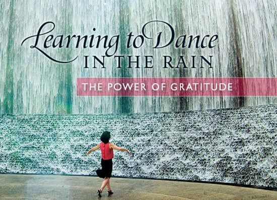 Simple Truths: Learning to Dance in the Rain