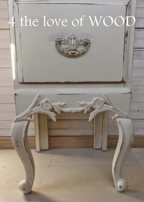 4 The Love Of Wood: LADIES FRENCH NIGHTSTAND   Before And After ·  Repurposed FurnitureWood ...