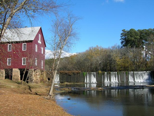Starr's Mill near Fayetteville, GA