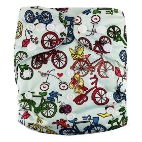 AnAnBaby Machine Prints Washsable Cloth Diaper + One MF Insert R13 [R13] - $5.50 : AnAnBaby-Wholesale and Retail Quality Baby Cloth Diaper