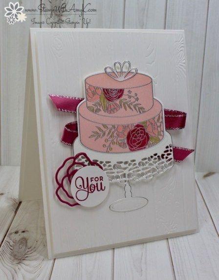Stampin' Up! Cake Soirée Sneak Peek Birthday Card – Stamp With Amy K