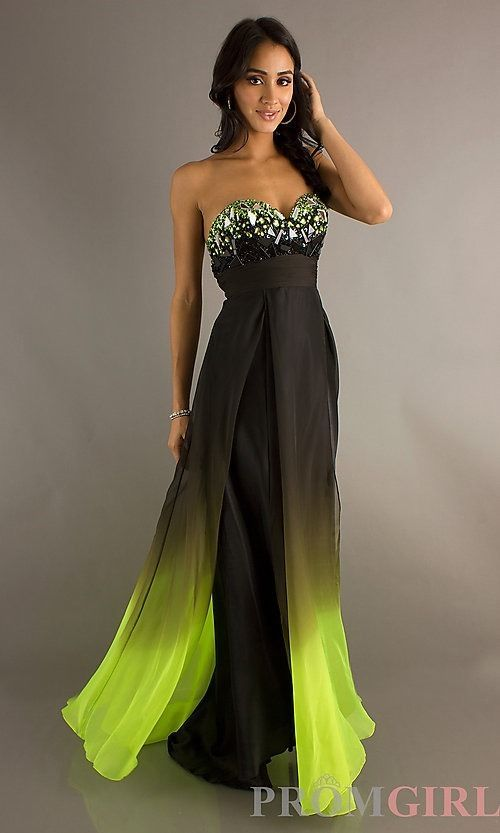 Dave and johnny prom dress black and green prom dresses for hailey