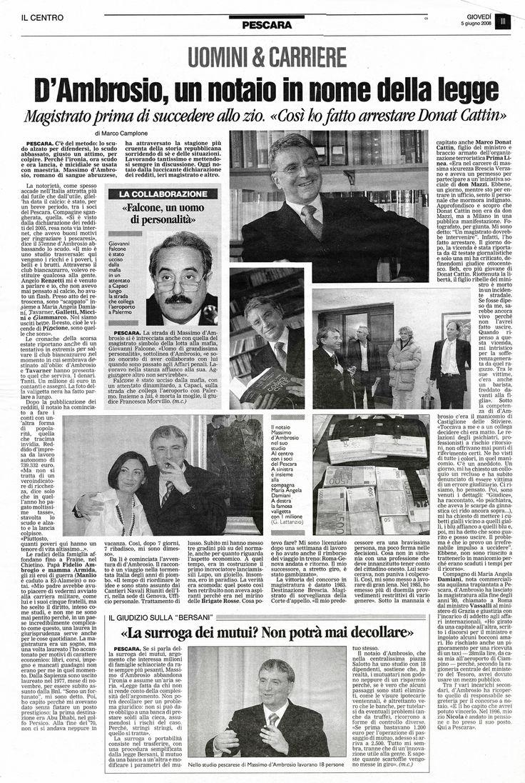 La vita del Notaio Massimo d'Ambrosio