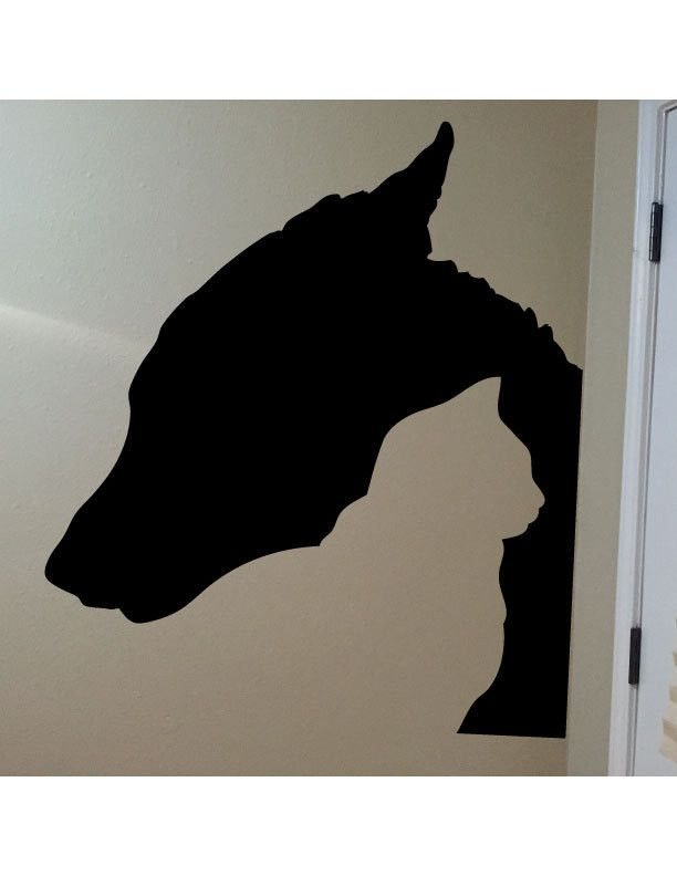 Cat and Dog Silhouette Vinyl Wall Decal Sticker Made from 10 year high quality vinyl which leaves no residue upon removal. Measures 22 x 25 inches. Some decals may come in multiple pieces due to the s