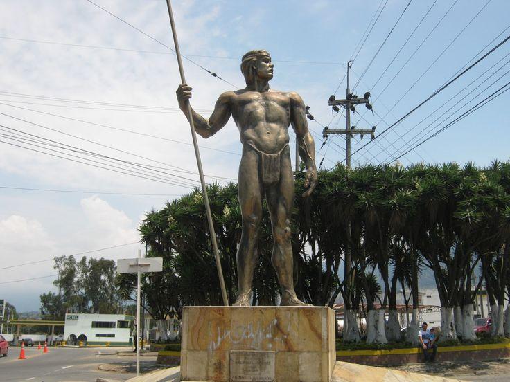 Resultado de imagen de monumento del indio fusagasuga