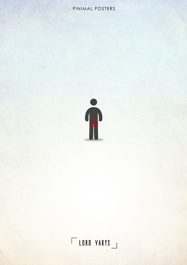Game of thrones minimal charachter poster varys