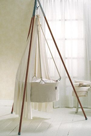 Leander cradle - my beautiful Elliot slept in this when he was just an infant