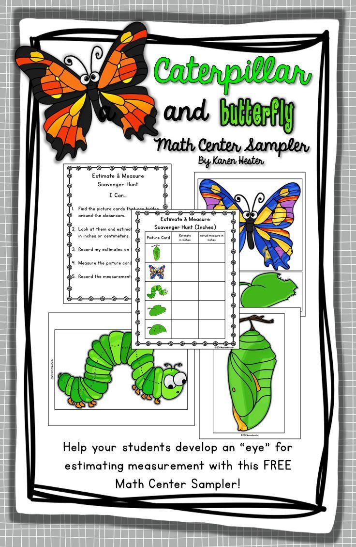 FREEBIE! 2nd Grade Measurement Math Center
