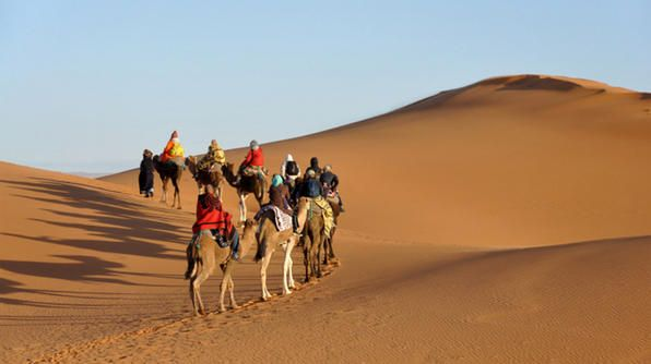 Merzouga, Morocco. Enter for a chance to win #TheTrip2014 now!