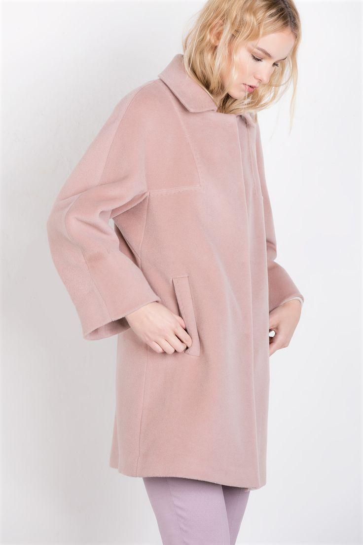 Powder pink coat