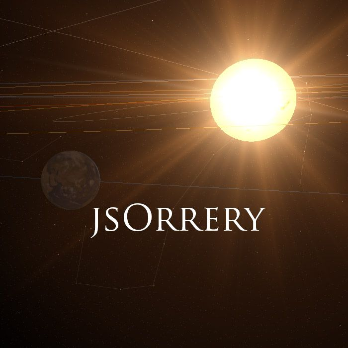 jsOrrery - Solar System Simulator