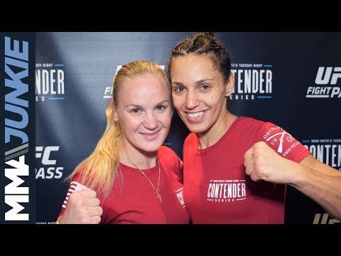 Mma Dwcs 11 Antonina Shevchenko Full Post Fight Interview With