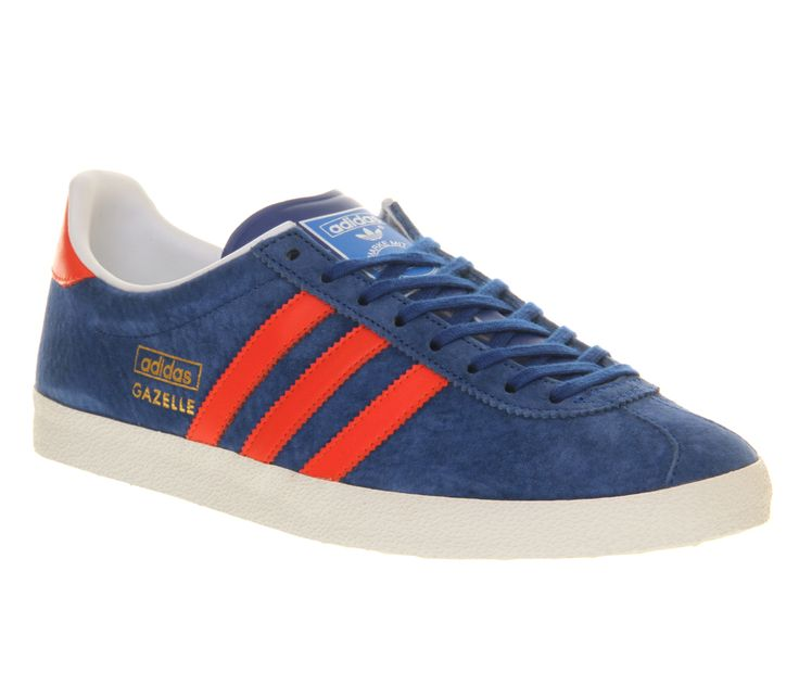 Adidas Gazelle Og Collgiate Royal Blue Hi Res Red - His trainers