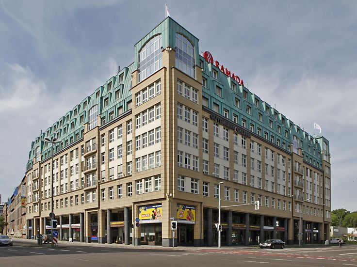 Leipzig Ramada Hotel Leipzig City Centre Germany, Europe Ideally located in the prime touristic area of Leipzig City Center, Ramada Hotel Leipzig City Centre promises a relaxing and wonderful visit. The hotel offers a high standard of service and amenities to suit the individual needs of all travelers. All the necessary facilities, including free Wi-Fi in all rooms, fax machine, photocopying, printer, taxi service, are at hand. Television LCD/plasma screen, internet access – w...