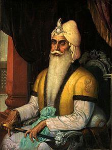 Maharaja Ranjit Singh, Emperor of the Sikh Empire.jpg