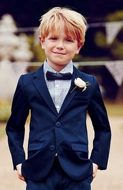 Groom's Ushers and Page Boys Wedding Suit Idea's For Men Children