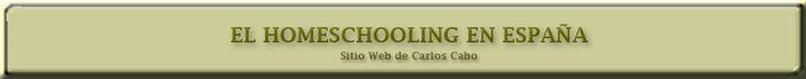 EL HOMESCHOOLING EN ESPAÑA Sitio
