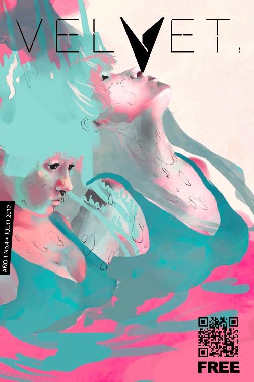 Portada Revista Velvet Año1 No. 4  por Carolina Rodriguez Fuenmayor