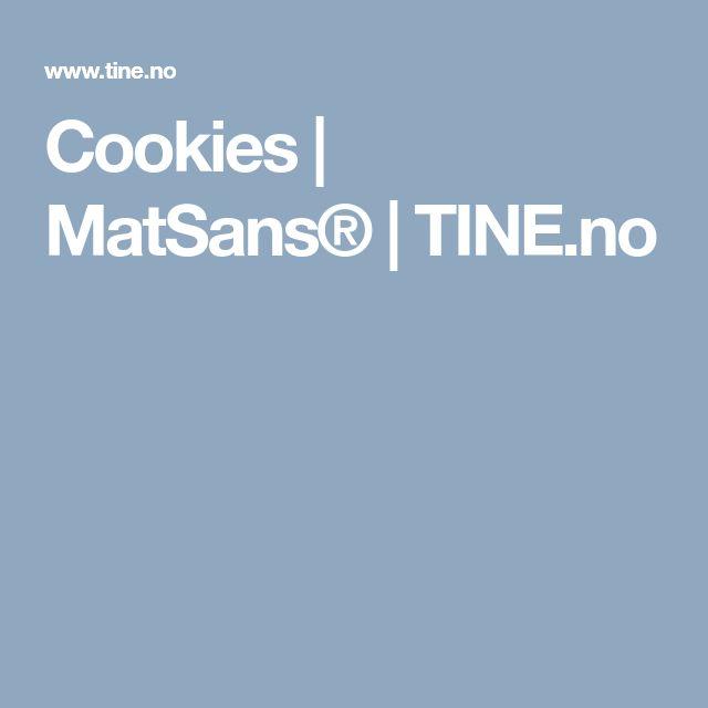 Cookies | MatSans® | TINE.no