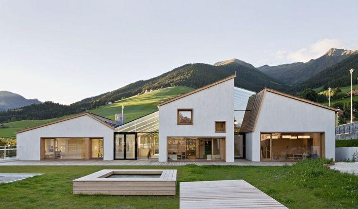 Architecture Kindergarten Terenten Design by Feld72 Architects Interior Styles