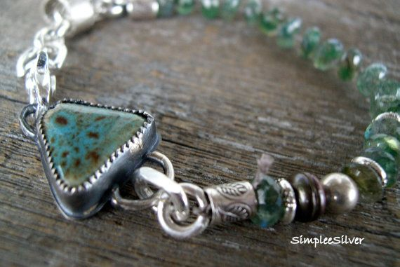Artisan Jewelry Handmade Bracelet Beaded by SimpleeSilver