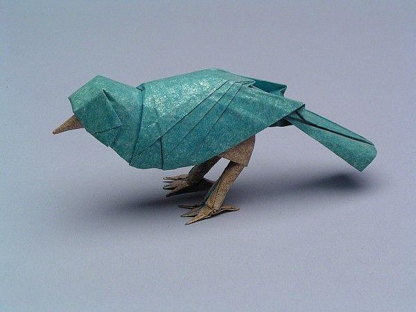 Les origamis de Robert J. Lang Photo Robert J. Lang est un passionné d'origami depuis plus de quarante ans et est maintenant reconnu comme l'un des plus grands maîtres du monde dans cet art, avec plus de 500 modèles créés et schématisés.