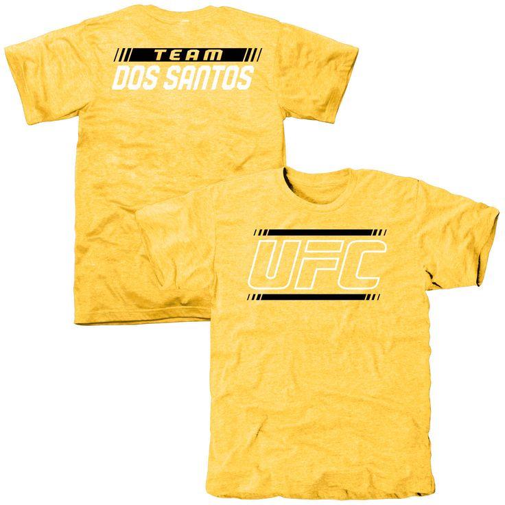 UFC Junior Dos Santos Alpha Team Tri-Blend T-Shirt - Gold - $37.99