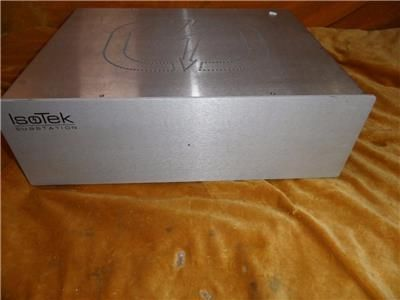 Isotek Substation 6 Outlet Power Conditioner used, for sale, secondhand