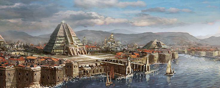Meereen - es una ciudad esclavista en el punto más al norte de la costa este de la Bahía de los Esclavos. Se encuentra en la desembocadura del río Skahazadhan, que separa Meereen y las otras ciudades esclavistas del Desierto Rojo. El símbolo de la ciudad es la arpía del antiguo imperio de Ghis, que en Meereen no lleva nada entre las garras.