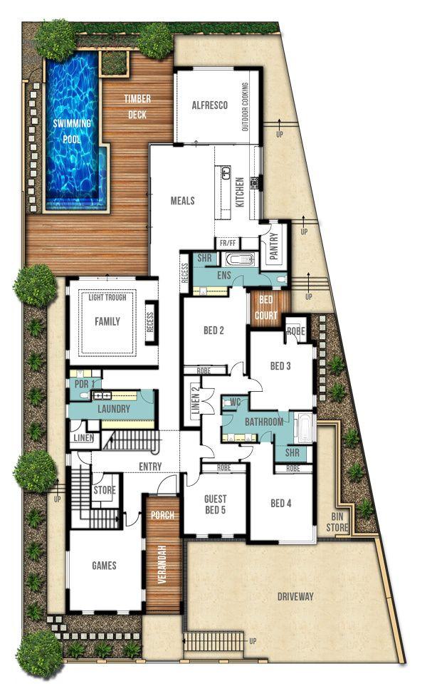 130 best Floor plans | House plans images on Pinterest | House ...