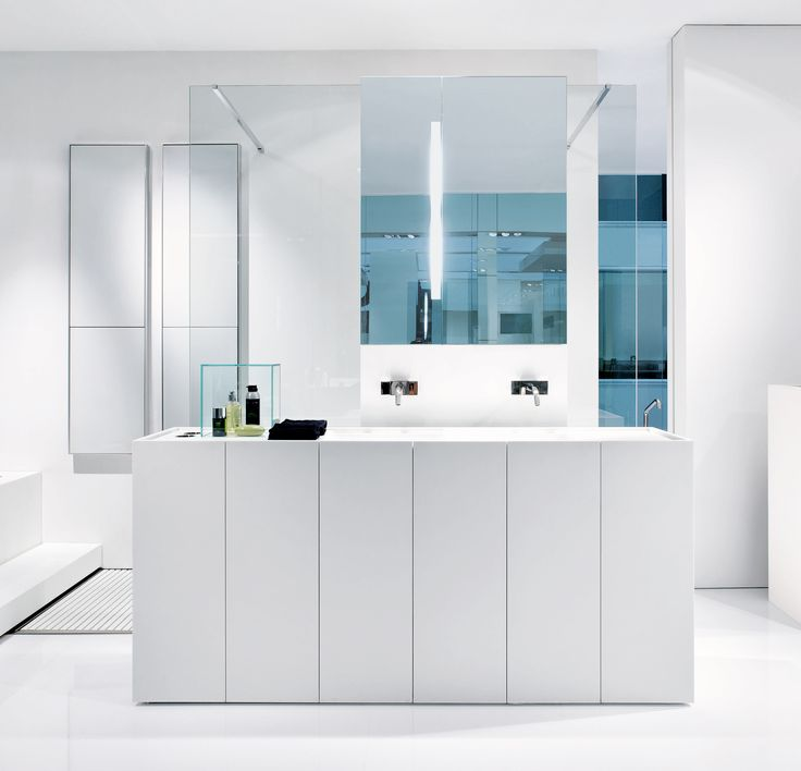 Photo Gallery For Website MODULO is a convenient bathroom vanity consisting of modules cm each with integrated full