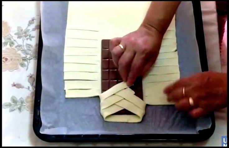 recette facile chocolat pate feuilletee