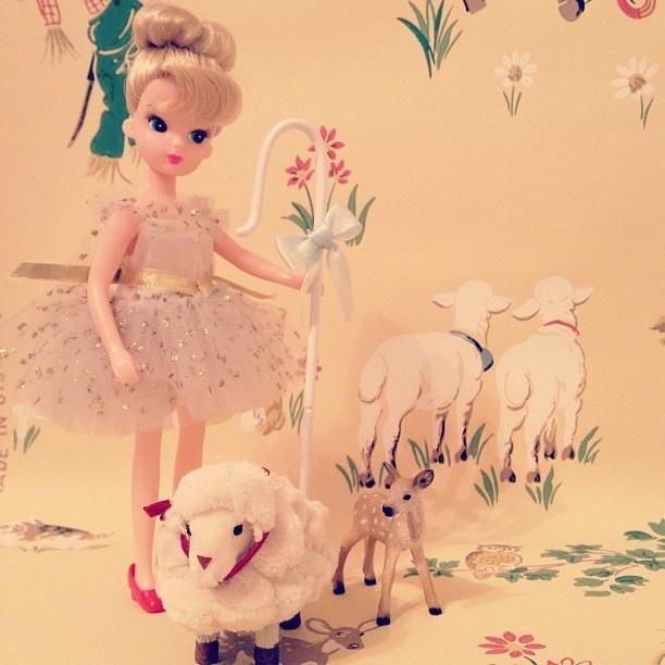 my petite fairy shepherdess #vintage #licca #doll - @xiaoyangtui- #webstagram