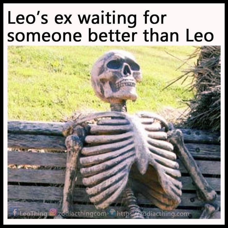 Our exes lol!! Never gonna happen bitches! We are super happy together and both leos