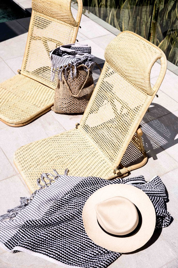 Rattan Beach Chairs by Byron Bay Hanging Chairs. www