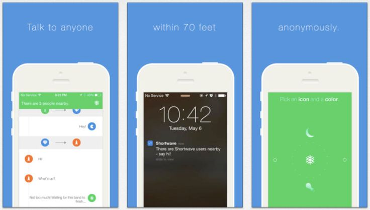 Shortwave Shows Off Anonymous Chat As Another Consumer Use Case For iBeacons   TechCrunch
