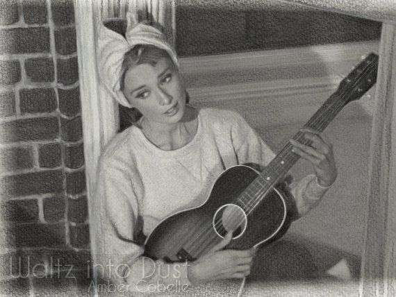 Moon River Audrey Hepburn as Holly Golightly in Breakfast at