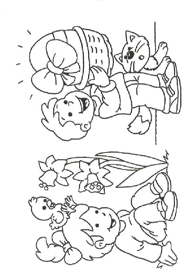 72 best images about easter ideas on pinterest punch art for Disney spring coloring pages