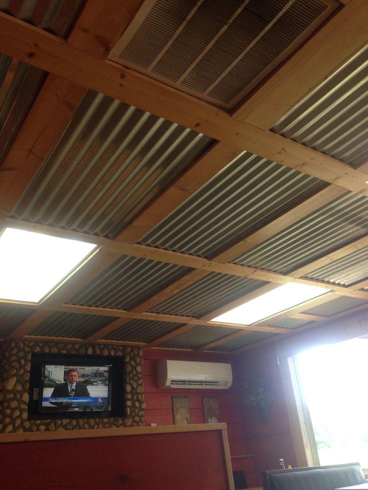 Ceiling Rustic Basement