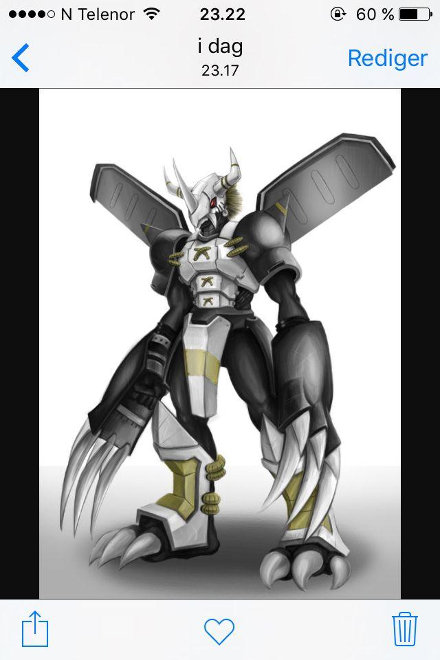 Dragonoid mech suit