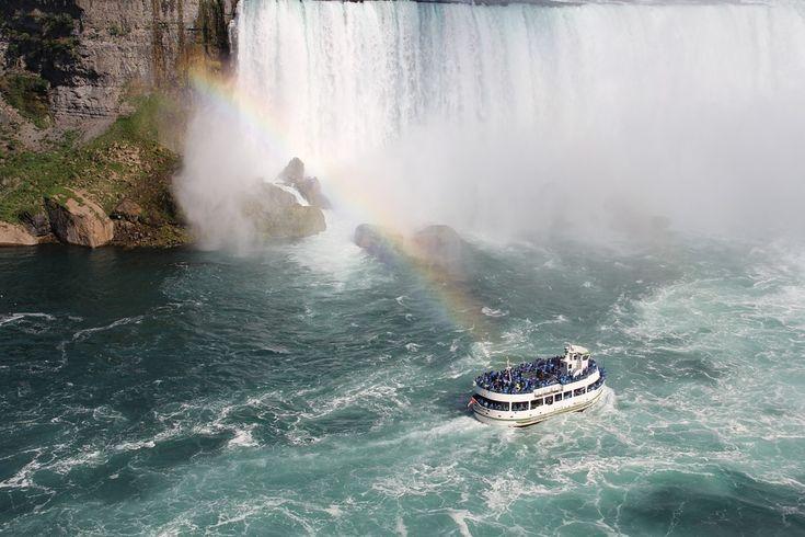 Niagara Falls Canada Waterfall Niagara Water River